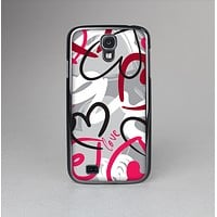 The Vector Love Hearts Collage Skin-Sert Case for the Samsung Galaxy S4