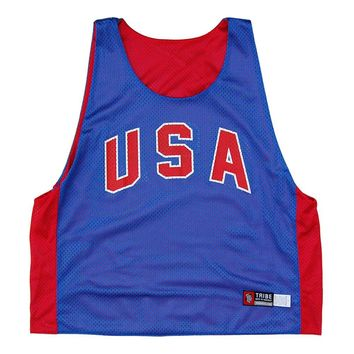 USA Retro-Colorway Lacrosse Pinnie