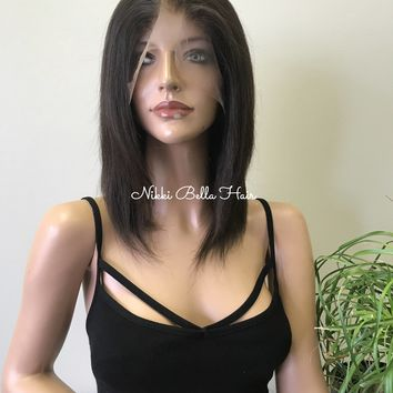 Brown Full Lace Wig - Haley