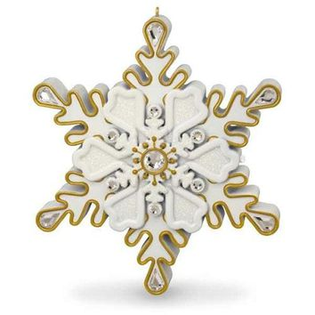 All I Want for Christmas Is You Snowflake Musical Ornament