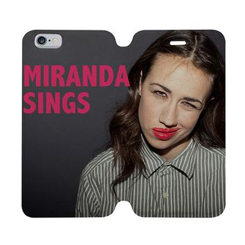 MIRANDA SINGS Wallet Case for iPhone 4/4S 5/5S/SE 5C 6/6S Plus Samsung Galaxy S4 S5 S6 Edge Note 3 4 5