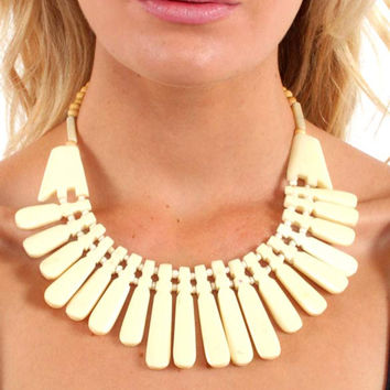 Soft Spike Collar Necklace (3 Colors)