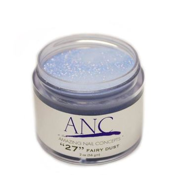 ANC 27 Dip Powder Amazing Nail Concepts 2 oz #27 Fairy Dust