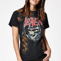 Slayer Slaytanic Bleached T-Shirt at PacSun.com