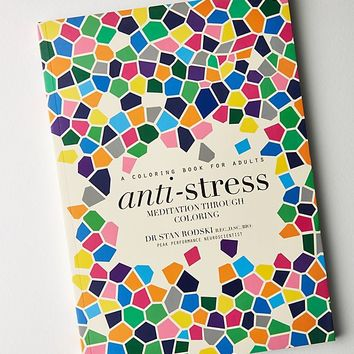Anti-Stress: Meditation Through Coloring