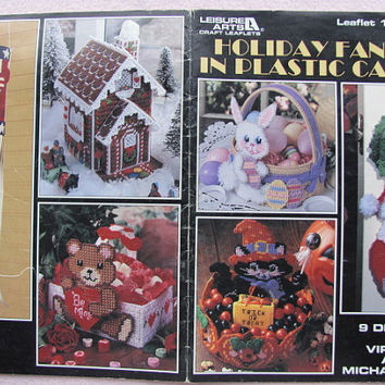 Plastic Canvas Holiday Fancies in Plastic Canvas Leisure Arts #1583