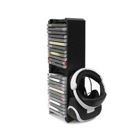 For Xbox ONE S Console Multifunctional Storage Stand Kit VR Holder Game CD Holder Console Accessories For PS4 For PS4 Pro/Slim