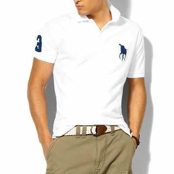 hombre ralph big pony high quali polo top Men Short sleeve Casual rugby lauren Shirt camisa embroidered eden park polo masculine