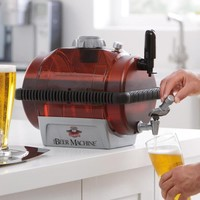 Beer Machine Home Brewing Kit at Brookstone—Buy Now!