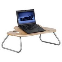 Angle Adjustable Laptop Desk with Natural Top - Flash Furniture : Target