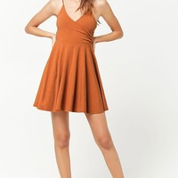 Surplice Fit & Flare Cami Dress