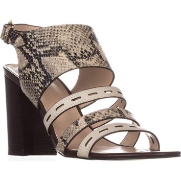 Cole Haan Lavelle High Heel Sandals, Roccia Snake, 9 US