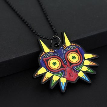 Cool The Legend of Zelda Majora Necklace Cosplay Pendant Collar Lovely