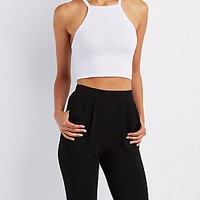 CAGED RACER CROP TOP