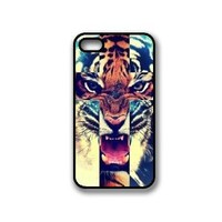 Amazon.com: Tiger Roar Cross Hipster Quote iPhone 4 Case Fits iPhone 4 & iPhone 4S: Cell Phones & Accessories
