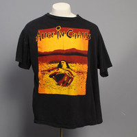 Rare 90s ALICE in CHAINS T-SHIRT / Seattle Arena Tour Shirt 1992, xl