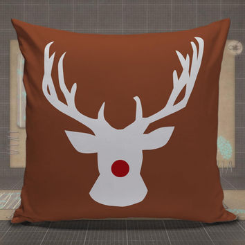 Burlap-Sparkly-Rudolph-Reindeer-pillow-case,-pillow-cover,-cute-and-awesome-pillow-covers