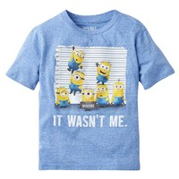 Despicable Me Minion Line Up Tee - Boys