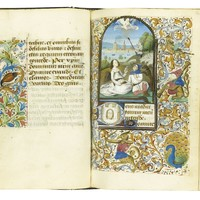 The Dagnes Book of Hours, Use of Rome, in Latin and French [France (Paris), c.1460] | lot | Sotheby's