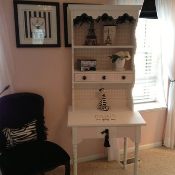 Storage Cabinet/Girls Bedroom Furniture /Shelf/Chic/ Shelf and Storage Combination Cabinet