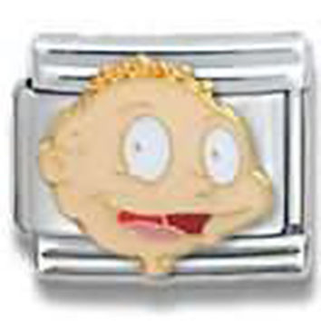 RUGRATS Tommy Face Close Up Officially Licensed Italian Charm