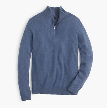 J.Crew Mens Softspun Half-Zip Sweater