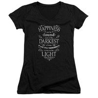 Harry Potter - Happiness Junior V Neck Officially Licensed Apparel