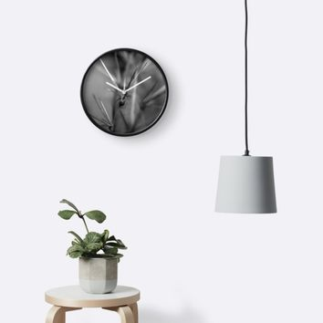 'Pointy' Clock by blakcirclegirl
