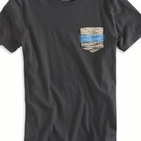 AEO Men's Pocket T-shirt (Coal