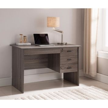 Adorning Contemporary Style Office Desk , Gray