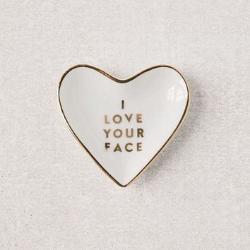 DCCKVE6 Fringe Studio Love Your Face Catch-All Dish | Urban Outfitters