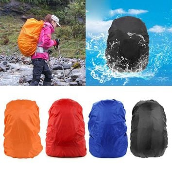 Backpack Raincoat Suit for 35L Waterproof Fabrics Rain Covers Travel Camping Hiking Outdoor Luggage Bag Raincoats
