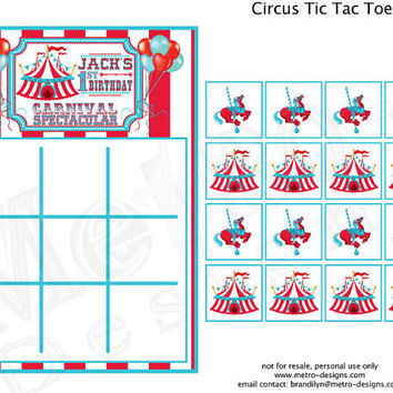Carnival Party Games, Vintage Circus Party Games, Circus Bingo, Carnival Color Sheets, Circus Birthday Games, Circus Word Search