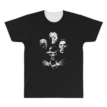 horror icons All Over Men's T-shirt