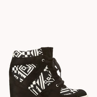 Brave Voyager Wedge Sneakers