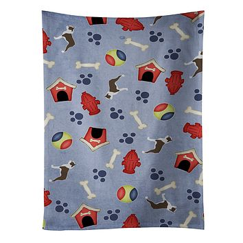 Boston Terrier Dog House Collection Kitchen Towel BB3944KTWL