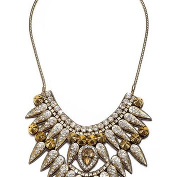 Suzanna Dai 'Torreon' Spike Bib Necklace | Nordstrom