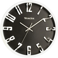 "Westclox 12"" Round 3d Number Wall Clock"