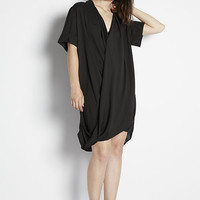 Ziggy Roll Sleeve Dress