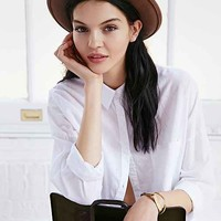 BDG Sammy Extended Crown Hat- Brown One