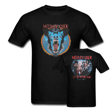 Motley Crue Mothers Nightmare Tour 1984  T Shirt