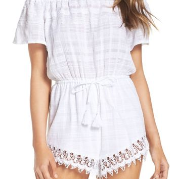 BB Dakota Yana Off the Shoulder Romper | Nordstrom