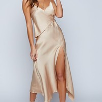By The Light Maxi Dress Champagne