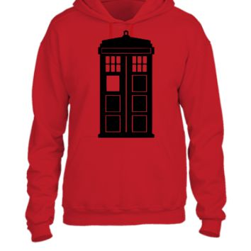 Doctor Who Phone Box - UNISEX HOODIE