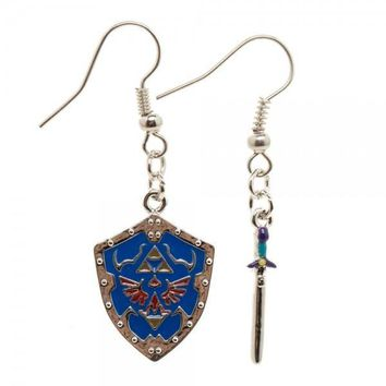 Nintendo Zelda Shield Earrings