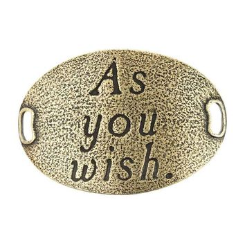 """As you wish."" Lenny and Eva Trousseau Sentiment"