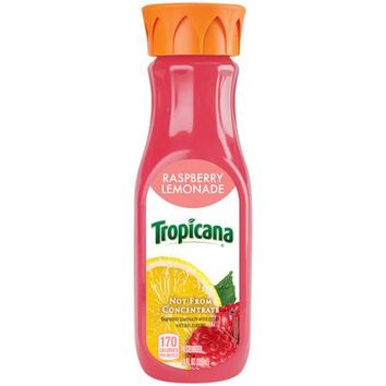 Tropicana Raspberry Lemonade, 12 fl oz - Walmart.com