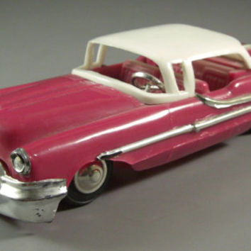 1955 Oldsmobile 98 Plastic Model Toy Car // from Successionary