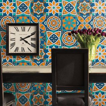 Creative Ceramic Tiles Patterns Sticker