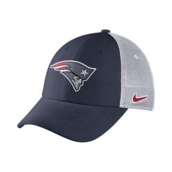 Nike Legacy Vapor Mesh Back (NFL Patriots) Fitted Hat